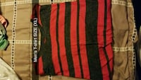 red and black stripe textile Kingsport, 37664