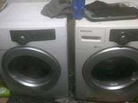 Samsung frontloaders washer and dryer 2360 mi