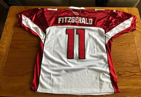 NFL Arizona Cardinals Fitzgerald jersey size 52 which is xl