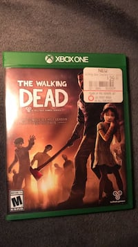 The Walking Dead game (xbox one) Barclay, 21607