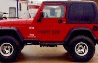 Jeep TJ. Hard top for sale or Trade. (Top only not the Jeep) Falls Church, 22042