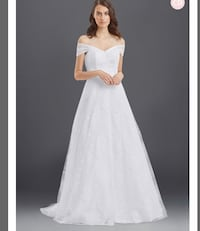 Wedding Dress Size 12 - BRAND NEW
