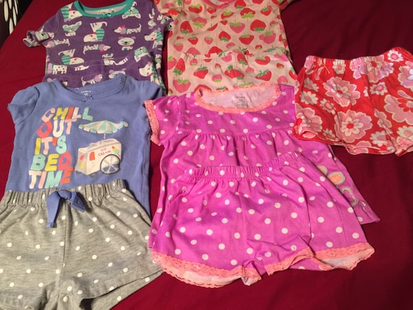 Spring/summer pajama sets