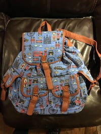British backpack, I bought back from England. Derwood, 20855
