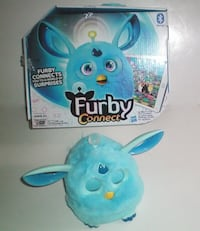 Furby Connect Blue Hasbro Bluetooth Interactive Toy with Box London