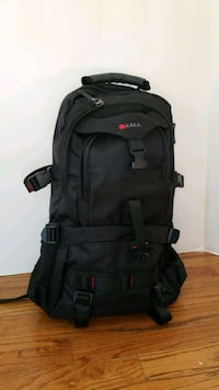 black and gray hiking backpack Reston, 20194