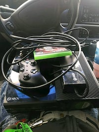 black Xbox oneconsole with controller and game ca Hammond, 46320