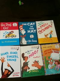 Easy learning books by dr. Seuss
