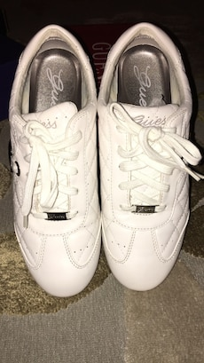 White Guess Sneakers size 8.5
