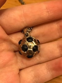 Big Soccer Ball Necklace  Alma, 48801