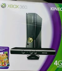 black and gray Xbox 360 console with kinect Oxon Hill, 20745