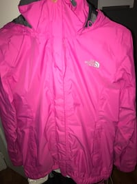 pink The North Face zip-up jacket Edmonton, T5B