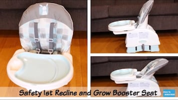 Safety 1st Recline & Booster Seat