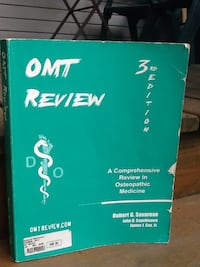 """""""OMT Review - 3rd Edition, 408 pages - Osteopathic Study Guide"""