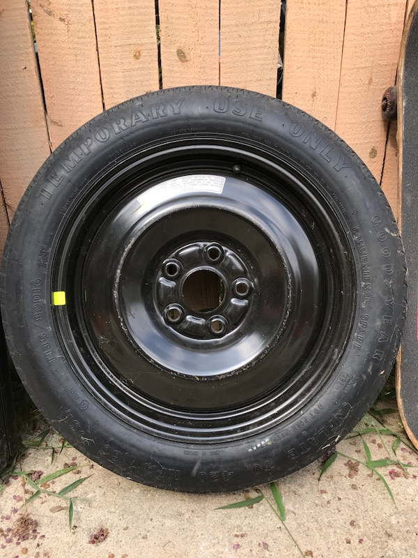 Original spare tire from 2012 Honda Civic Si