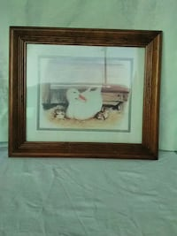 brown wooden framed painting of white and brown house Bowling Green, 42104