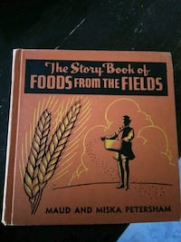 Rare Book: The Story Book Food from the Fields Eugene, 97402