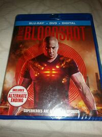 BLU RAY + DVD + DIGITAL BOODSHOT MOVIE
