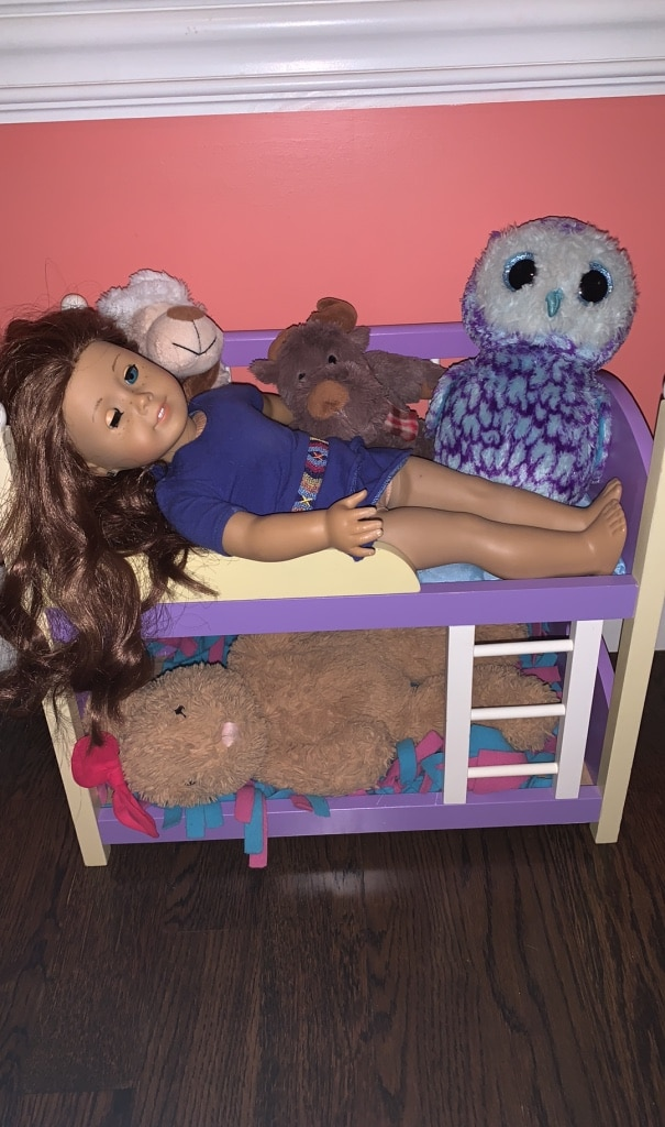 Photo American Girl Doll Bunk Bed