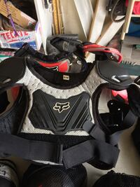 I have several chest protectors arm,leg,elbow pads ect for sale from 8.00 to 60.00  Peoria, 85381