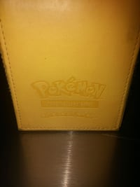 Pokemon Pikachu Ltd Ed Leather Case Toronto, M1G 1N4