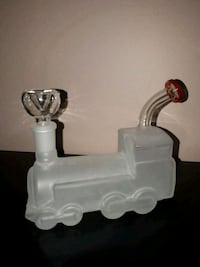 Frosted glass Train bong