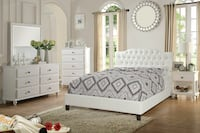 QUEEN SIZE BED (BRAND NEW)(MATTRESS NOT INCLUDED) Perris, 92571