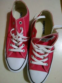 pair of red Converse All Star low-top sneakers Huntsville, 35803