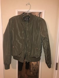 Bomber jacket small crop
