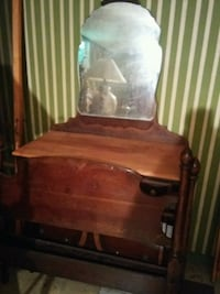 brown wooden vanity table Hamilton, L9C 7N4