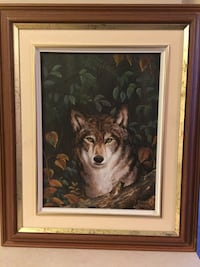 Wolf picture very good condition