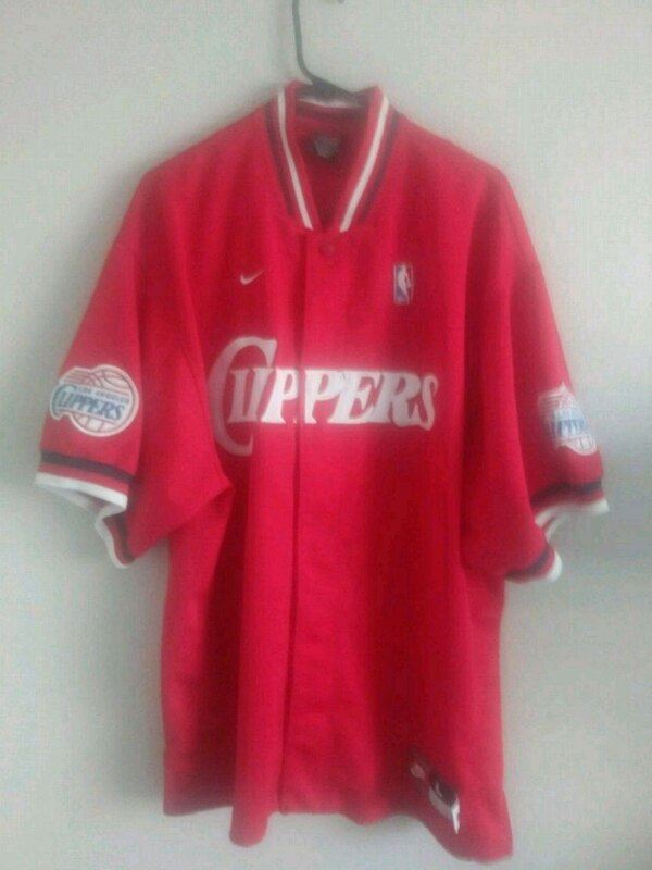 new styles 1beb2 39619 Vintage L.A. Clippers Mens Nike Jersey (Size L)