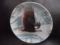 "Bradex Collectors Plate ""The Bald Eagle"" THE MAJESTIC BIRDS Hanover"