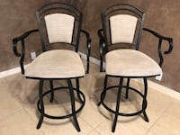 Swivel Bar Chairs - set of two Albuquerque, 87123