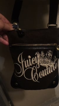 black and white Juicy Couture leather handbag Vaughan, L6A 2H4