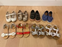 Sandals, sneakers, Mary Jane shoes (size 8) Falls Church, 22043