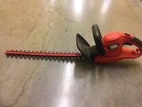 Black and Decker electric hedge trimmer....... Knoxville, 37922