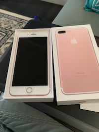 rose gold iPhone 7 plus with box Edmonton, T6W 2R7