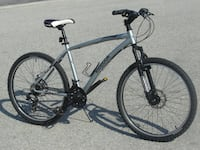 """ALMOST NEW AND BARELY USED ALL LIGHT ALUMINUM 26"""" REEBOK RUSH 21 SPD WITH DUAL DISC BRAKES PLUS SUSPENSION! Mississauga"""