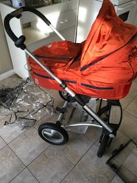 Baby's red and black stroller Surrey, V3R 3B1