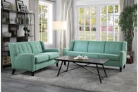 New 2pc set sofa and loveseat tax included