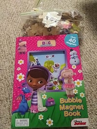 Doc Mc Stuffins bubble magnet book and puzzles  New York, 10314
