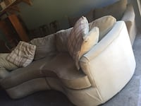 Curved shape couch Victoria, V8Z