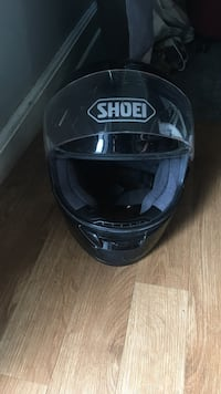 Shoei helmet used black size large  South Brunswick, 08810