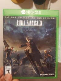 Xbox One Final fantasy  Port Coquitlam, V3C 5C4