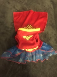 Small Wonder Woman Dress/costume for pet Ontario, 91761