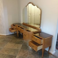 Old Dresser with Mirror and Nightstands.  Ashburn, 20147