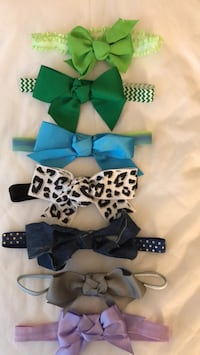 Baby headbands new never used. 1.00 Fort Myers, 33919