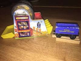 Thomas the train popcorn factory complete set