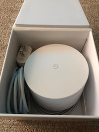 Google WiFi system, 1-Pack - Router replacement for whole home coverage (NLS-1304-25) Redmond, 98052